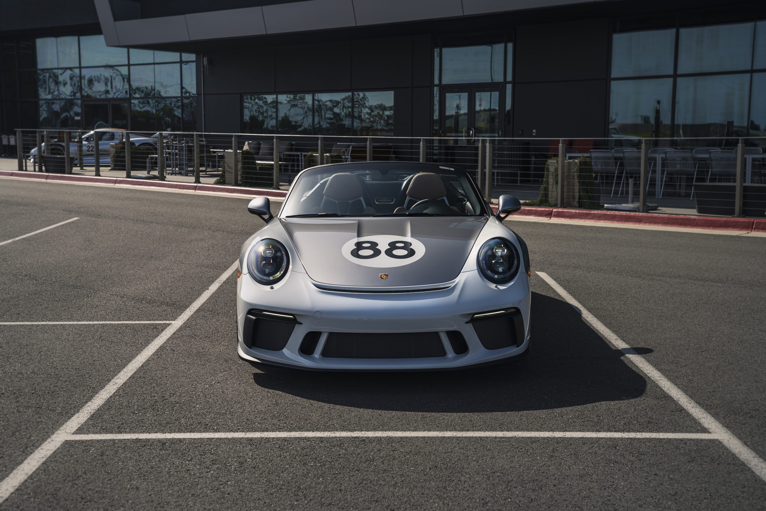 2019 Porsche 911 Speedster Heritage Design Front