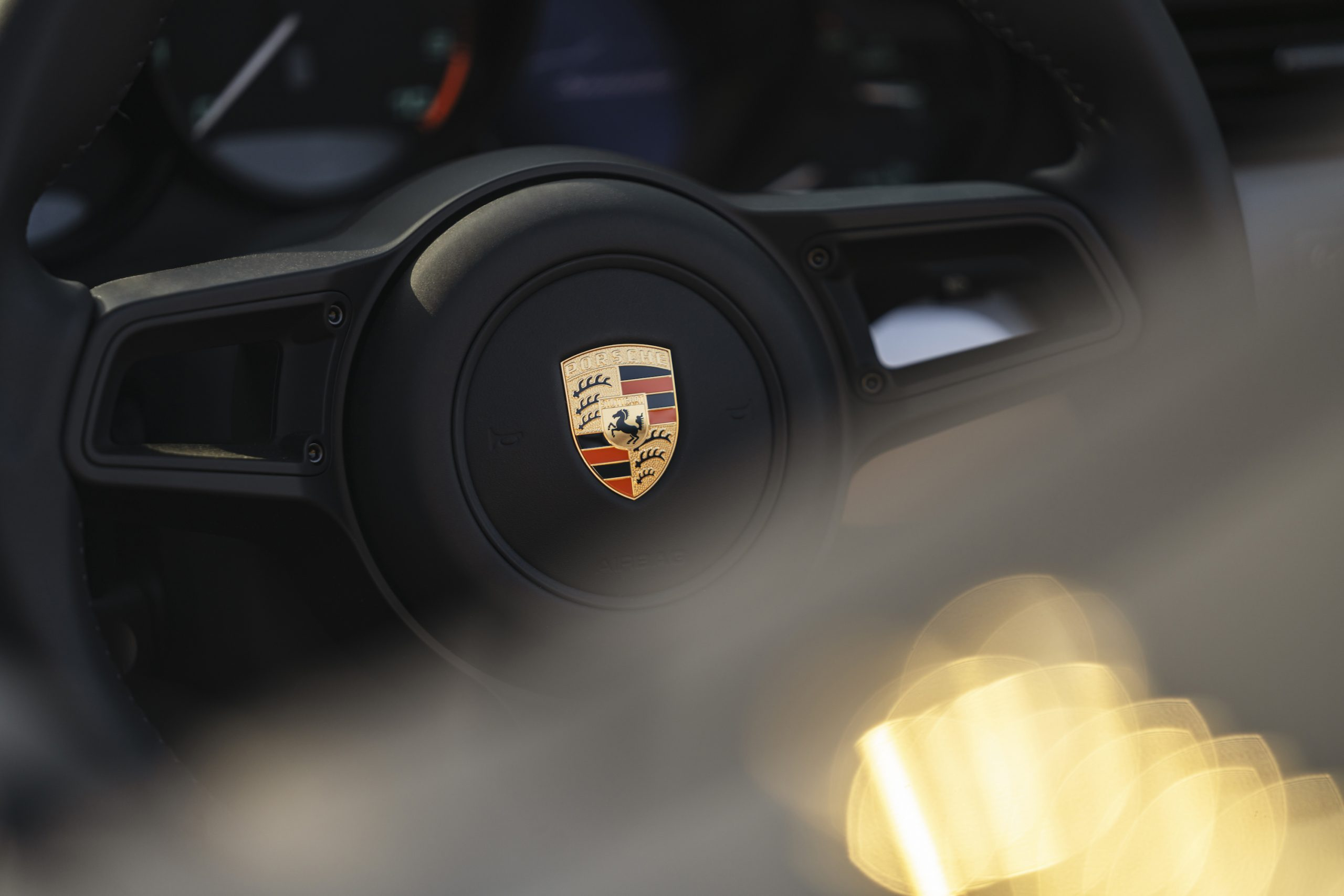 2019 Porsche 911 Speedster Heritage Design Steering Wheel