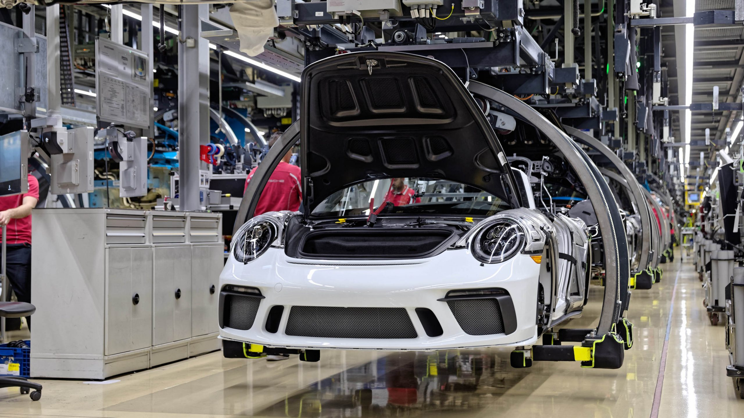 2019 Porsche 911 Speedster Heritage Design Assembly at Factory