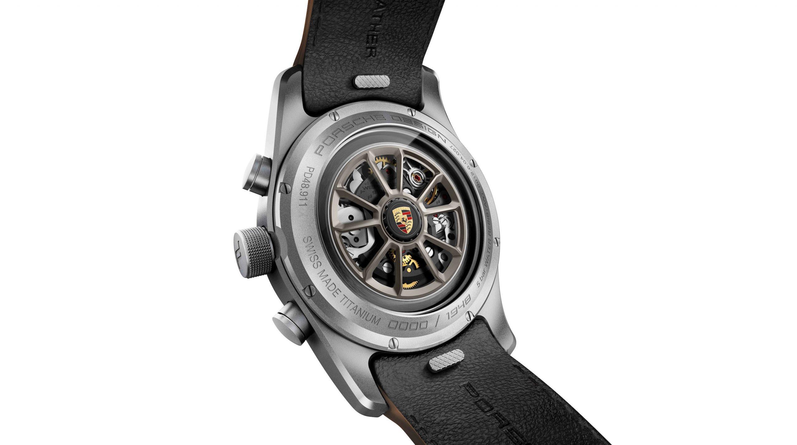 2019 Porsche 911 Speedster Heritage Design Timepiece Accessory Back