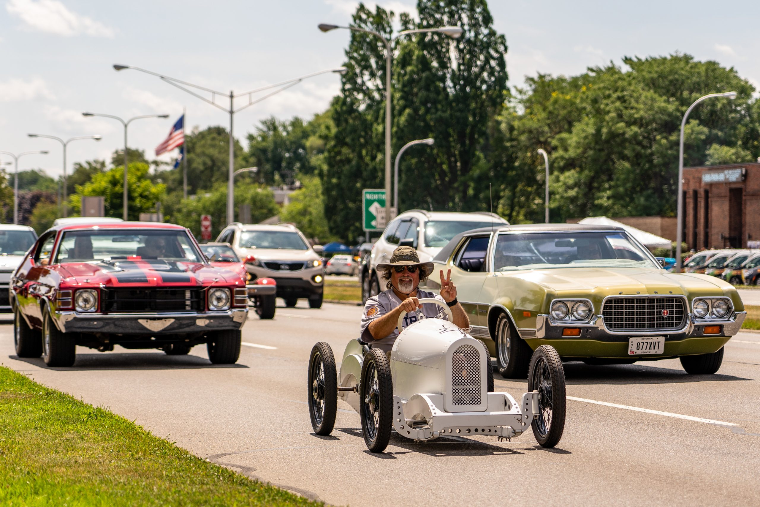 2019 Woodward Dream Cruise Cars Parade