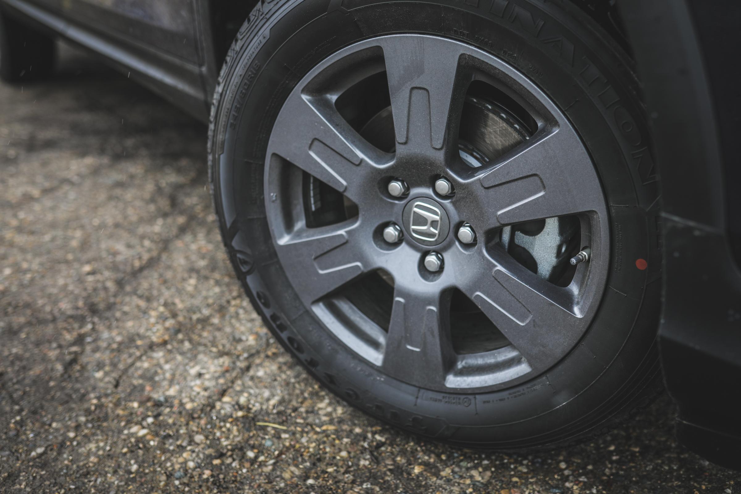 2020 Honda Ridgeline RTL-E wheel