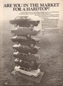 1971 volvo ad stack hardtop