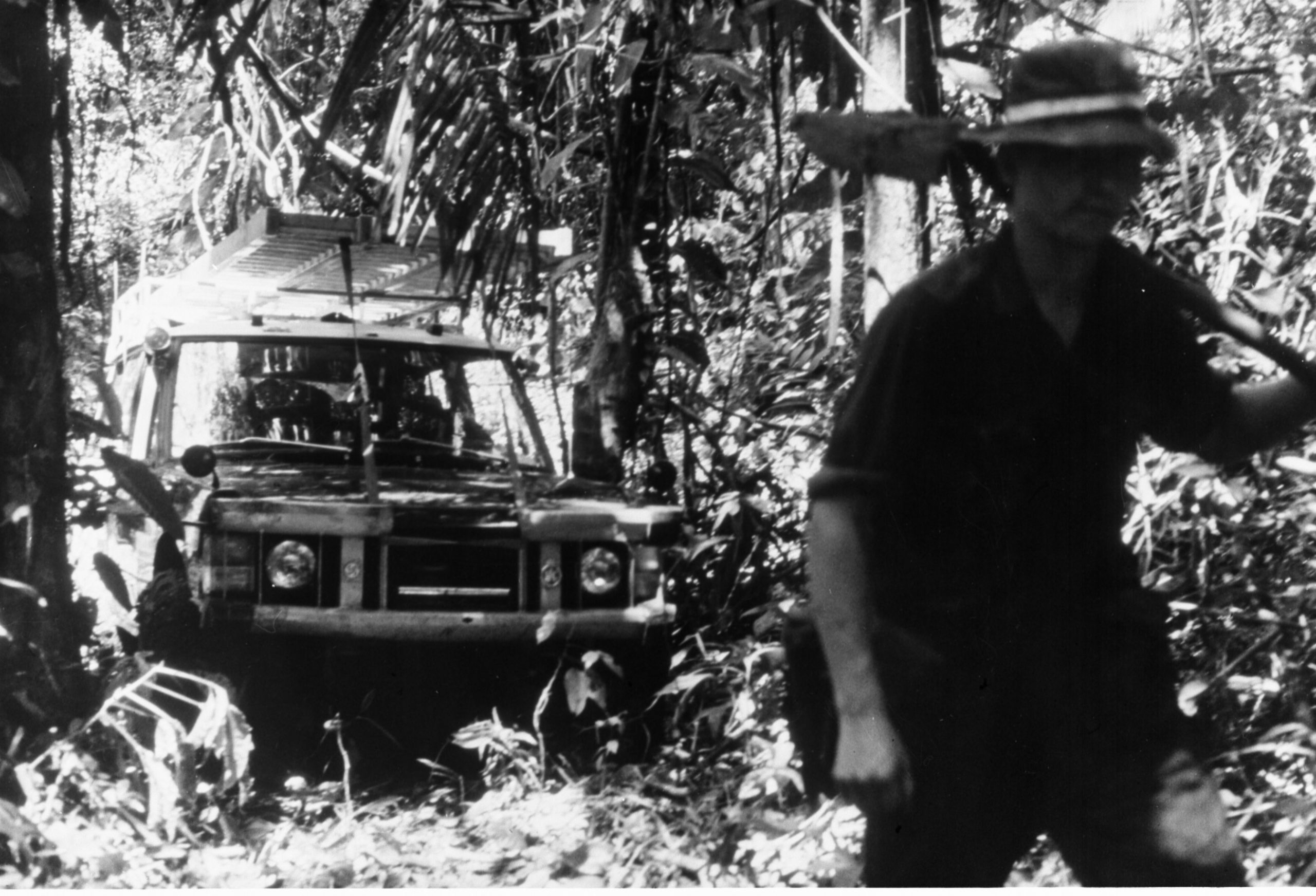 1972 land rover range rover darien gap jungle
