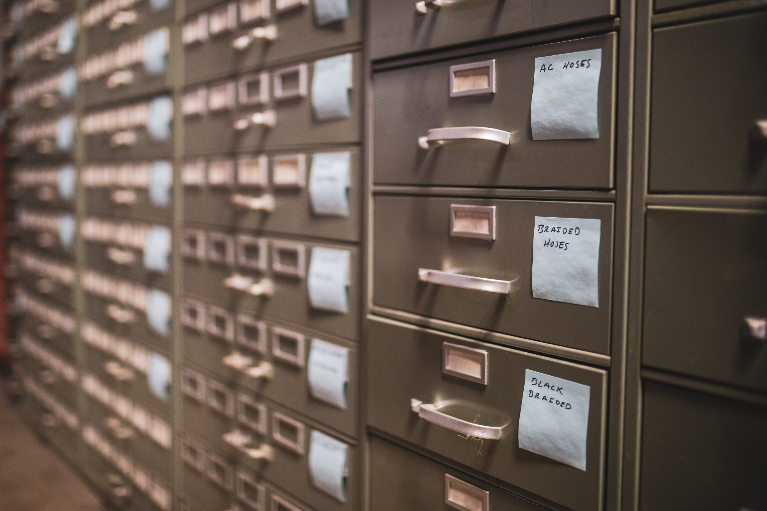 American Speed Company filing system