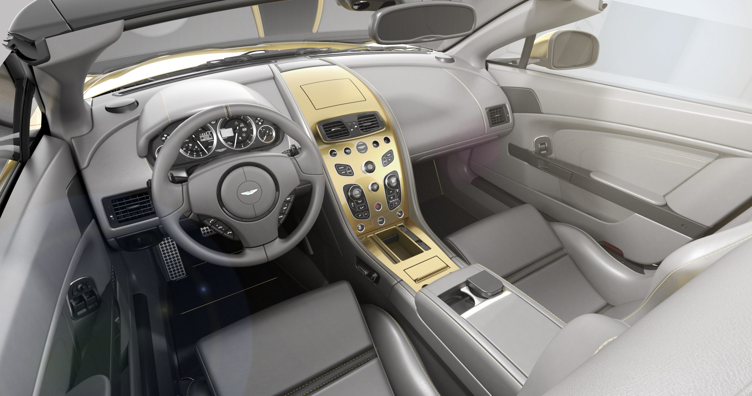 Aston Martin Vantage V12 Zagato Heritage TWINS by R-Reforged 5 Speedster interior