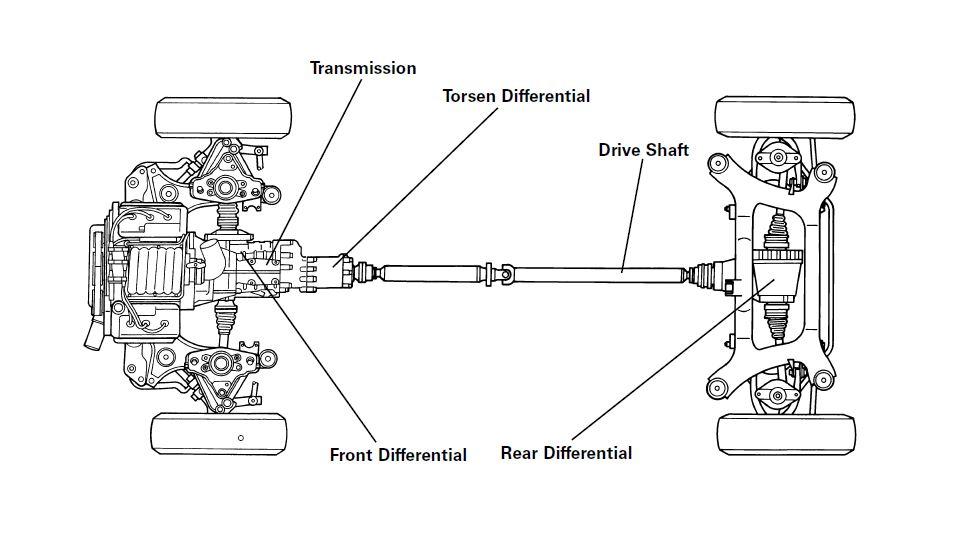 Audi quattro torsen differential