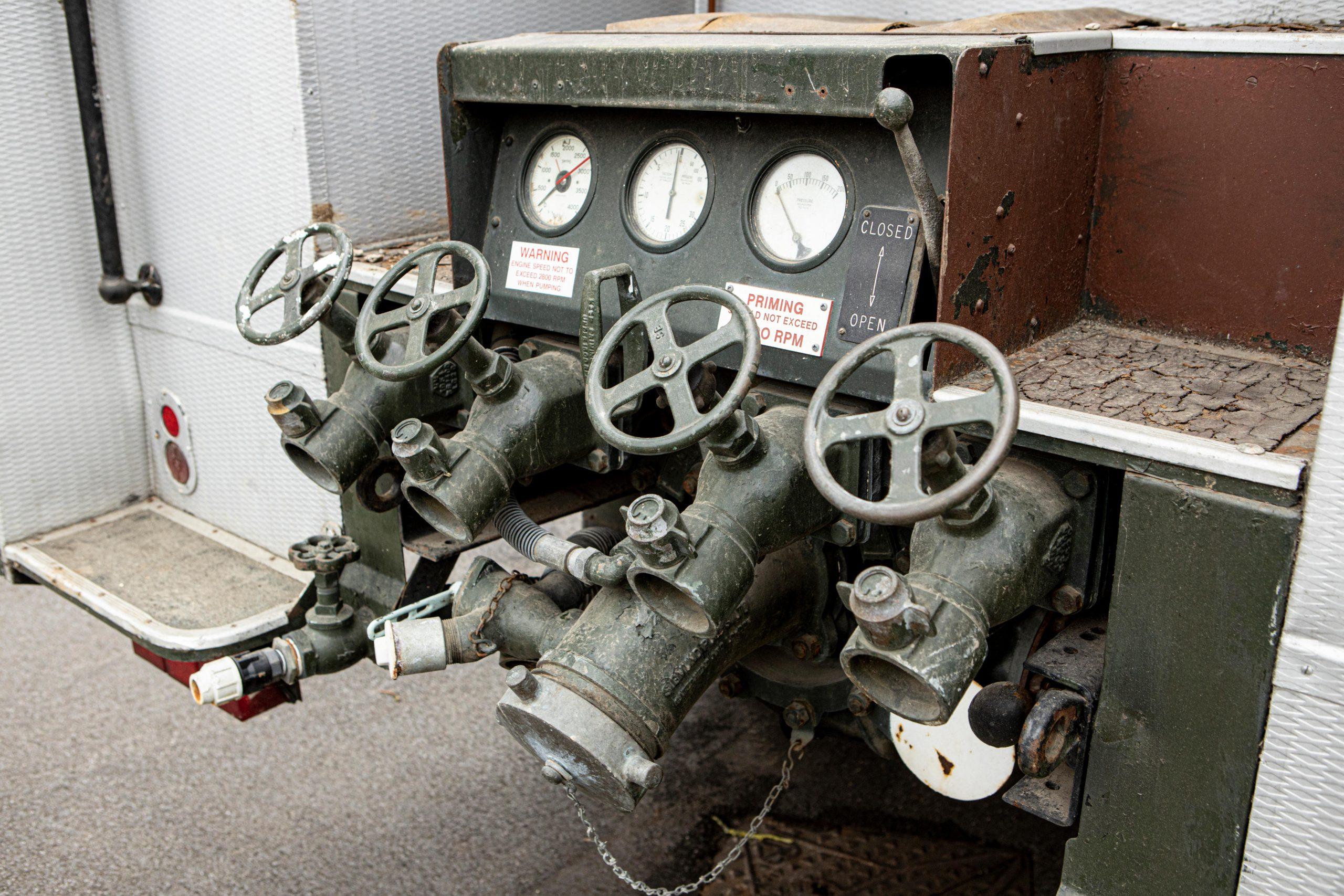 Bedford RL Green Goddess Pumps