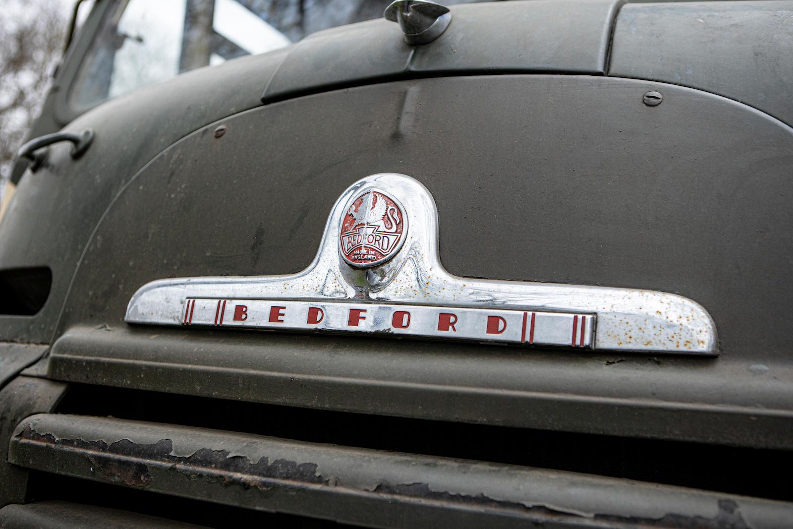 Bedford RL Green Goddess Front Badge