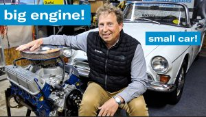 Ford 289 HiPo V-8 engine swap project | Brad the Sunbeam Tiger king