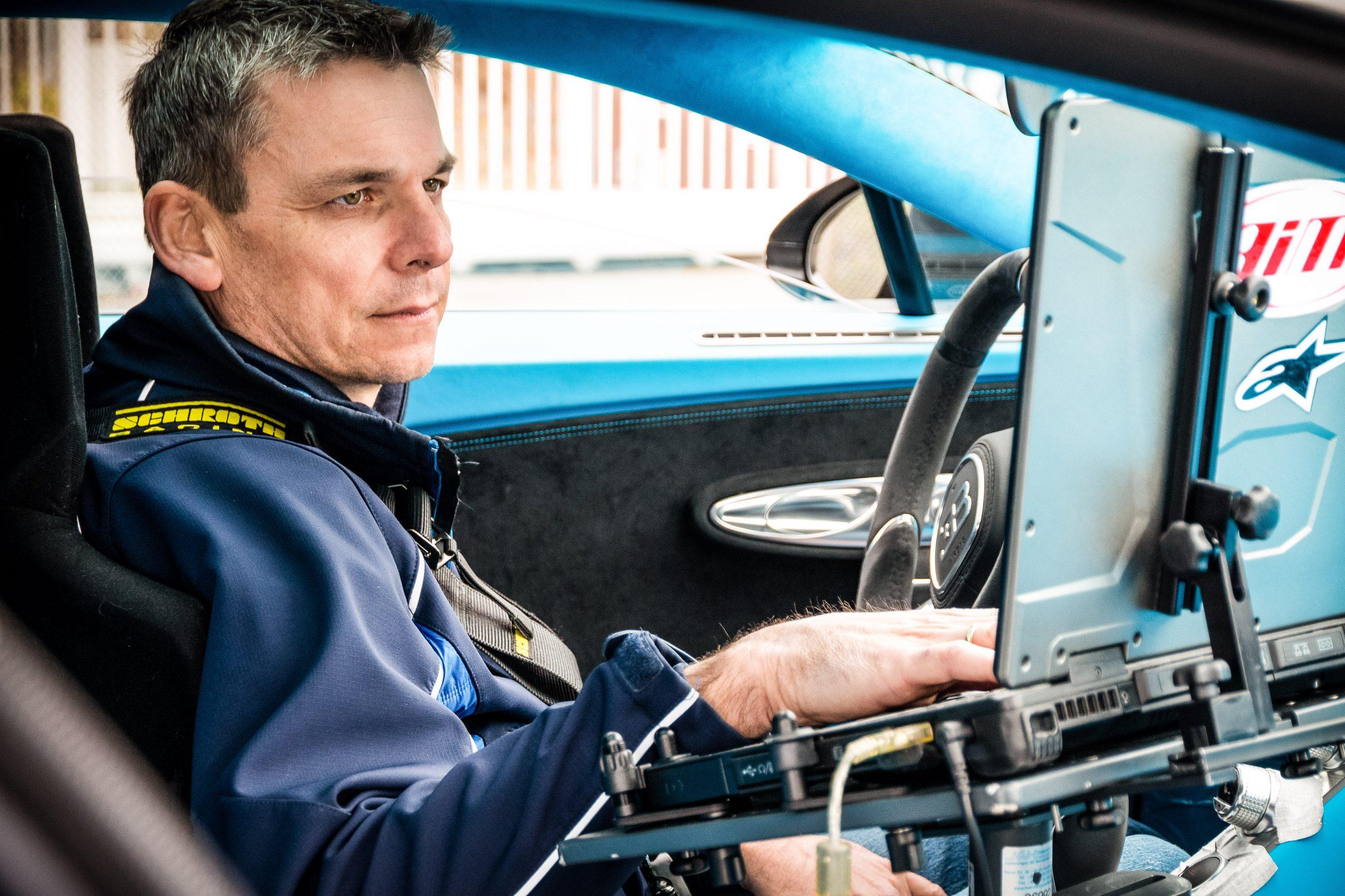 Bugatti Chiron Development Sven Bohnhorst laptop 2