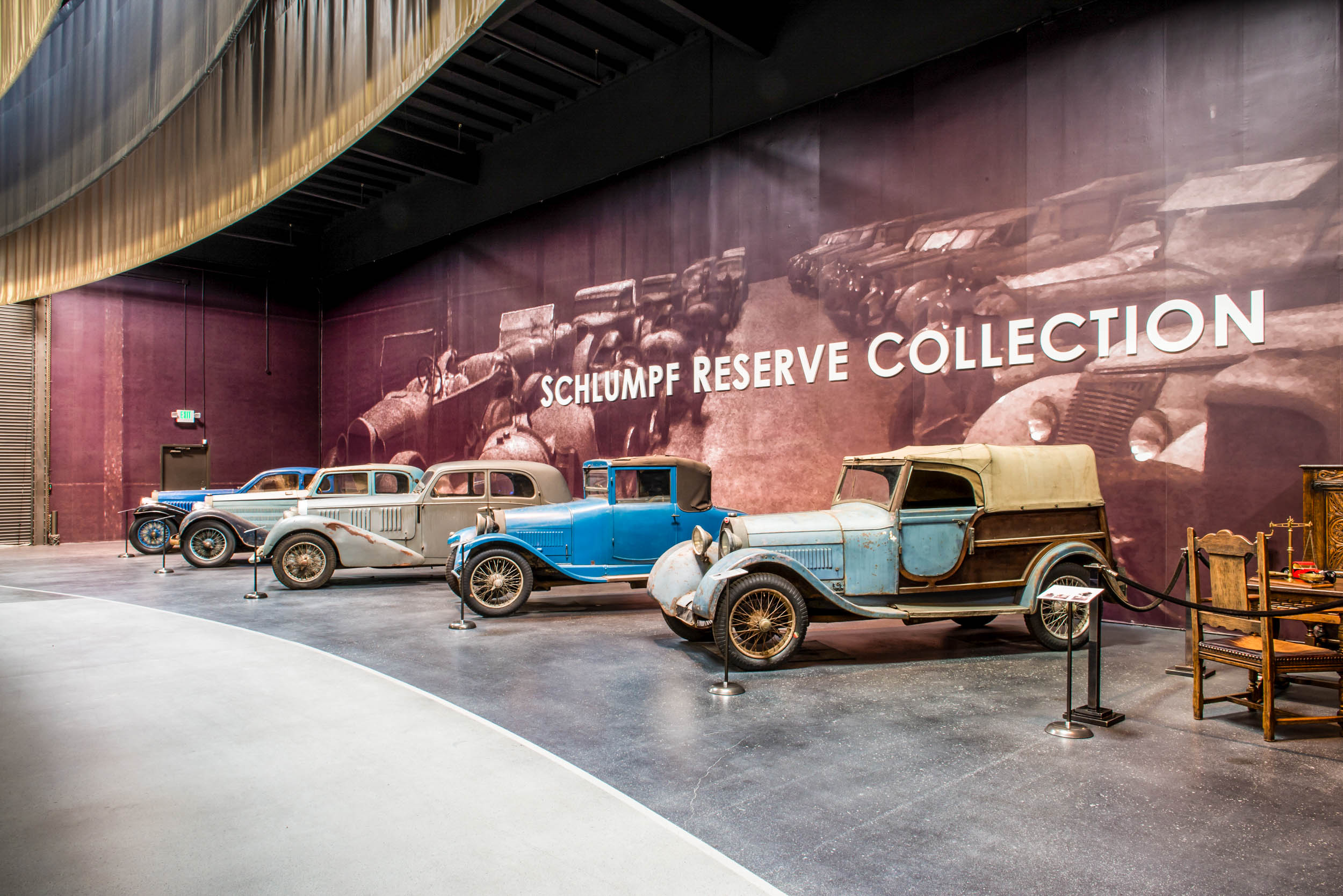 Bugatti Collection Fritz Schlumpfphoto mullin schlumpf