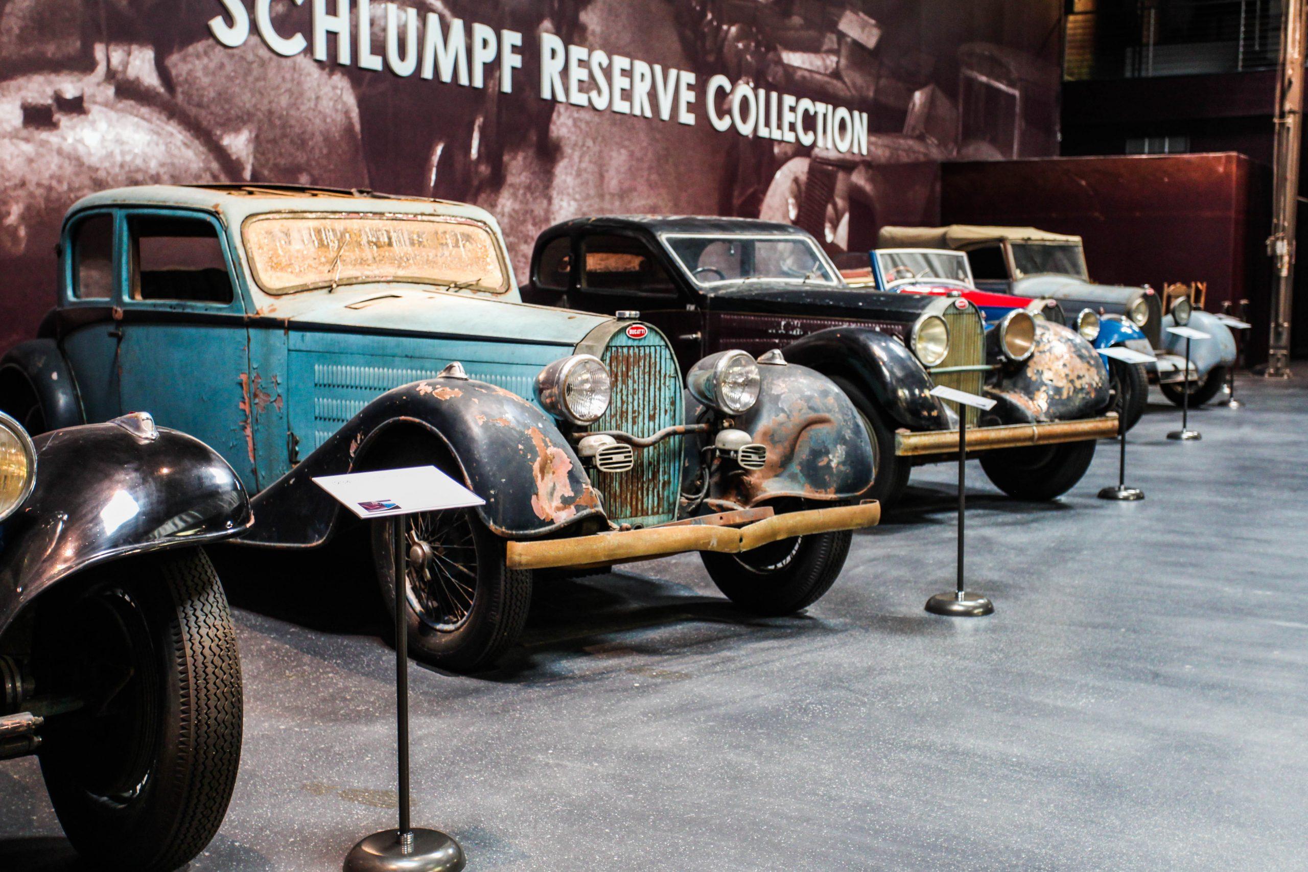 Bugatti Collection Fritz Schlumpfphoto