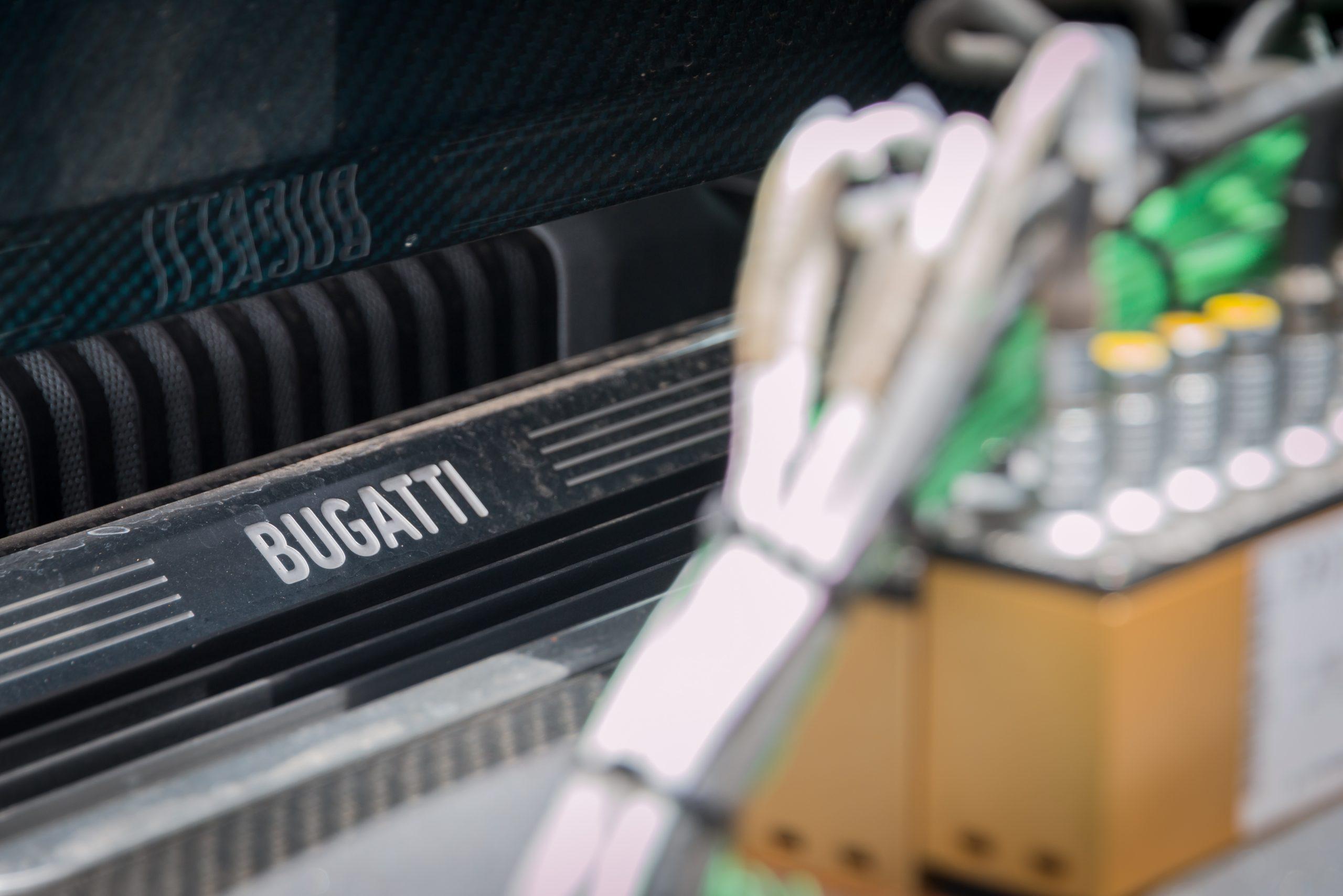 Bugatti Divo sill