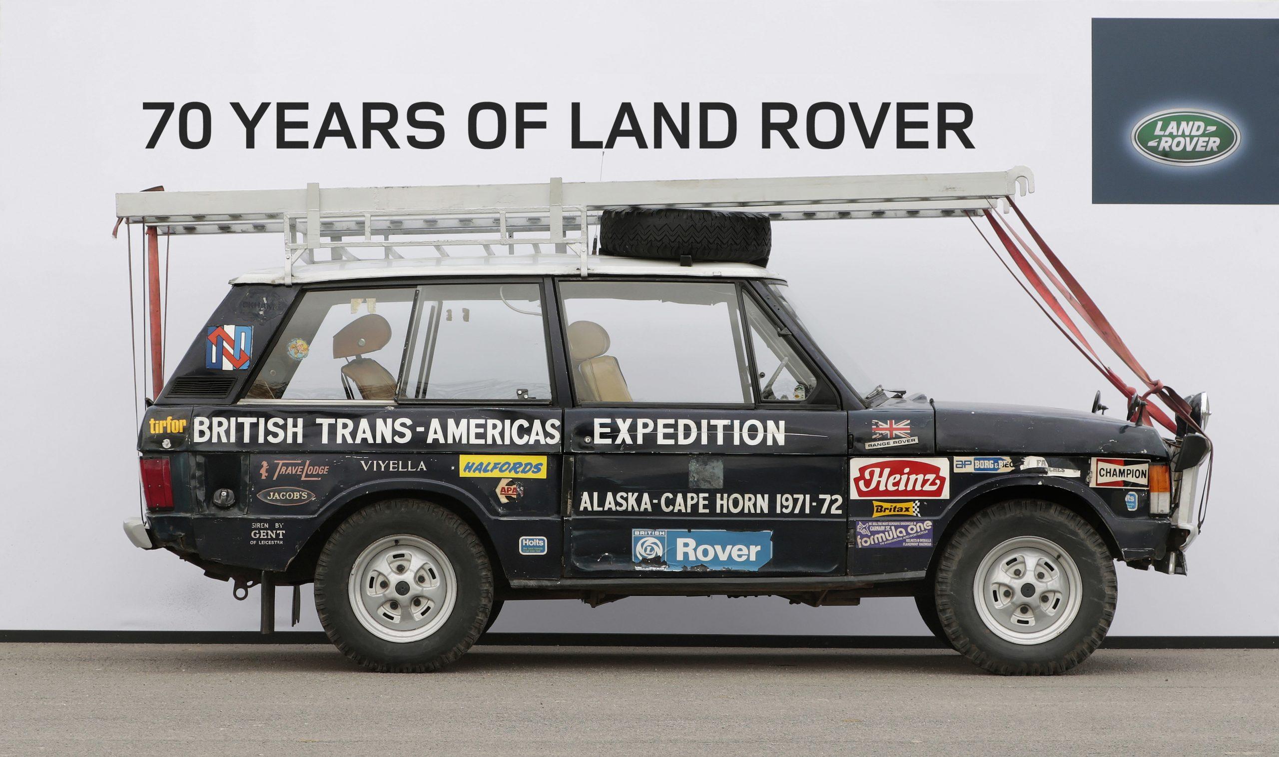 land rover range rover darien gap profile