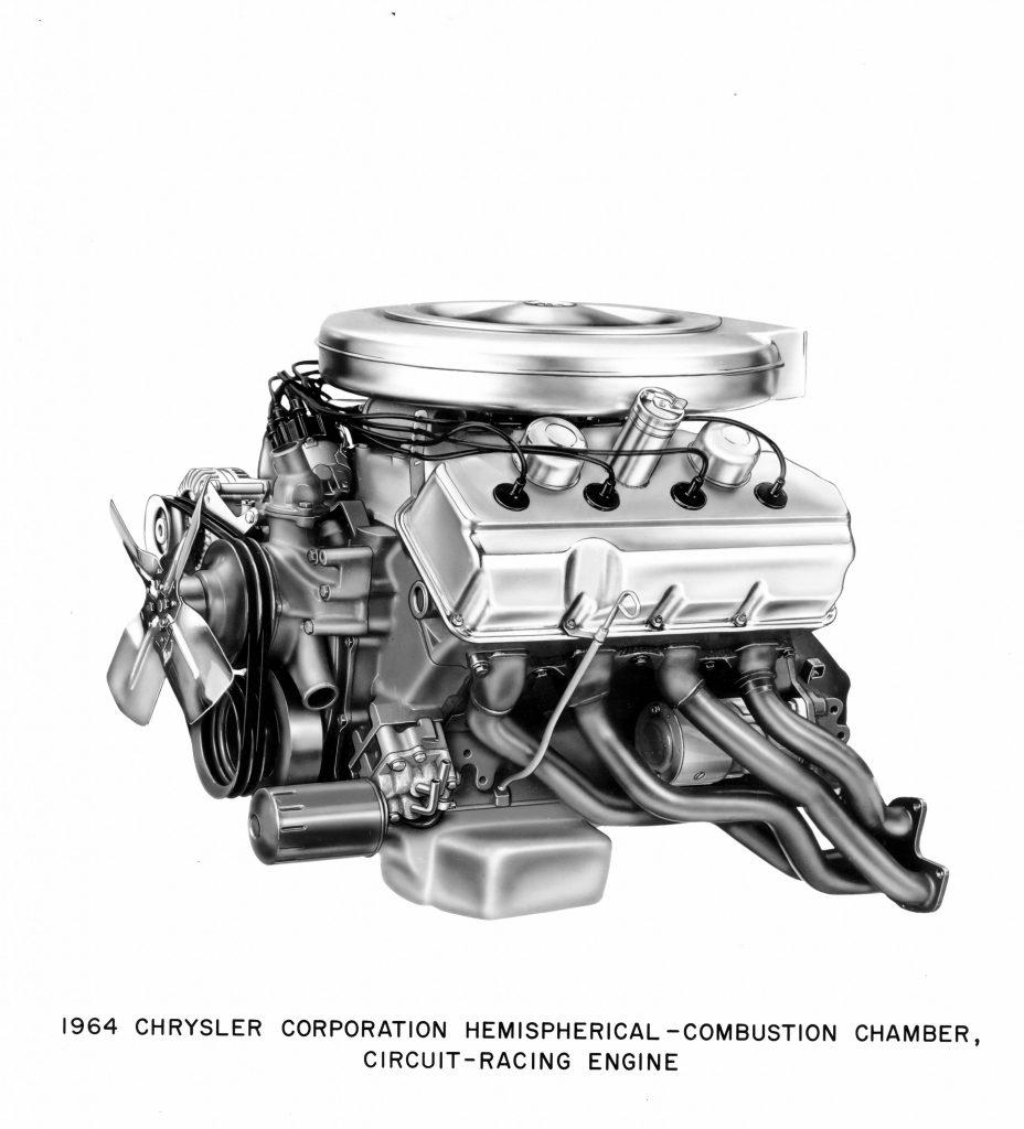 1964 Chrysler Corporation Hemispherical - Combustion Chamber