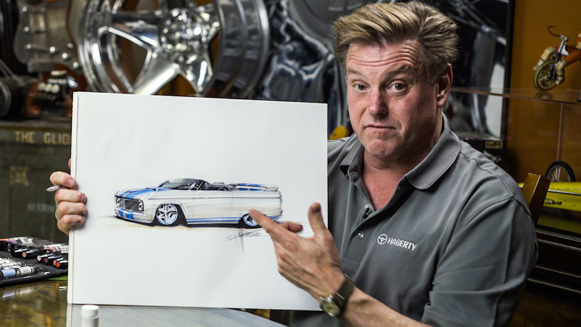 Chip Foose re-imagines the 1966 Ford Bronco