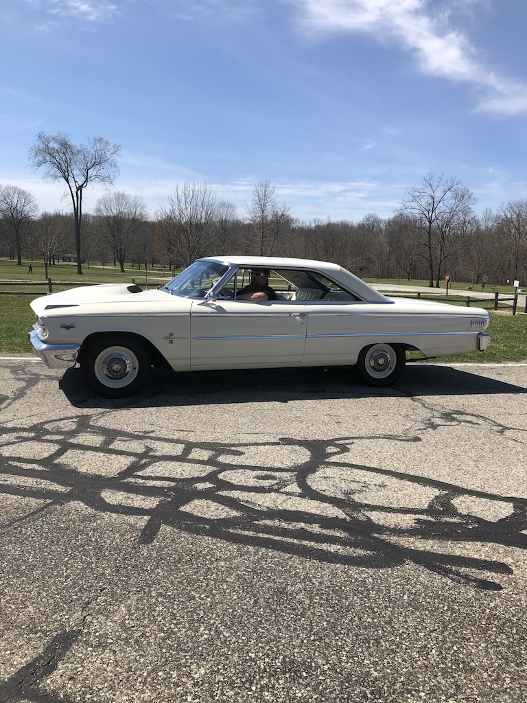 Ford Galaxie 500XL Side Profile Vertical