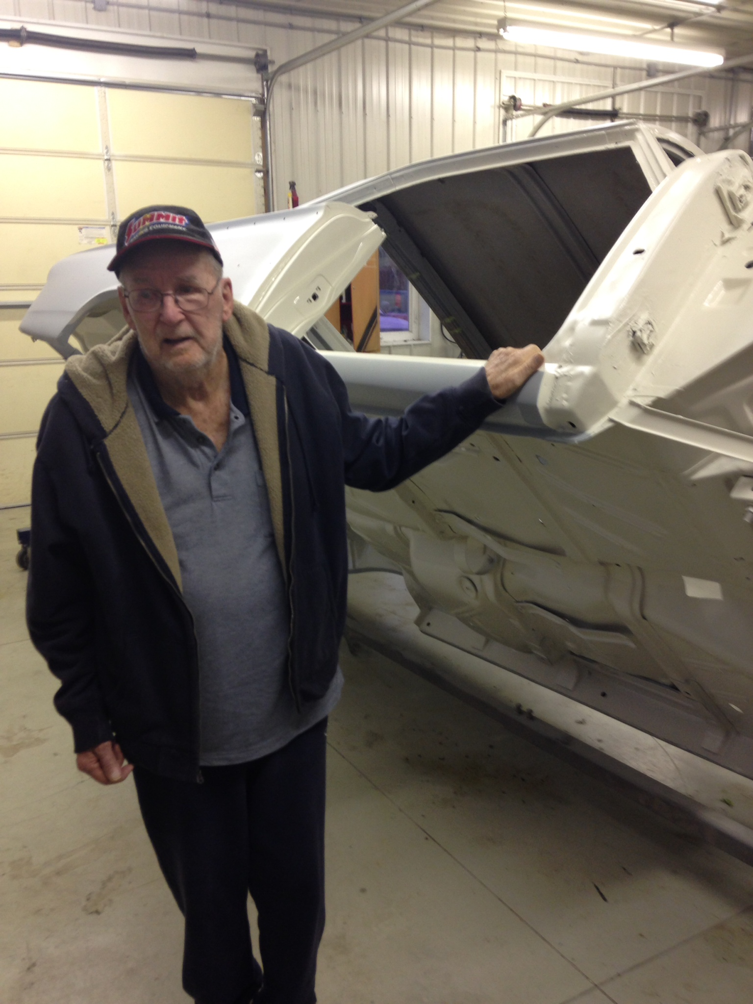 Ford Galaxie 500XL Restoration and Original Owner Odell Tidwell