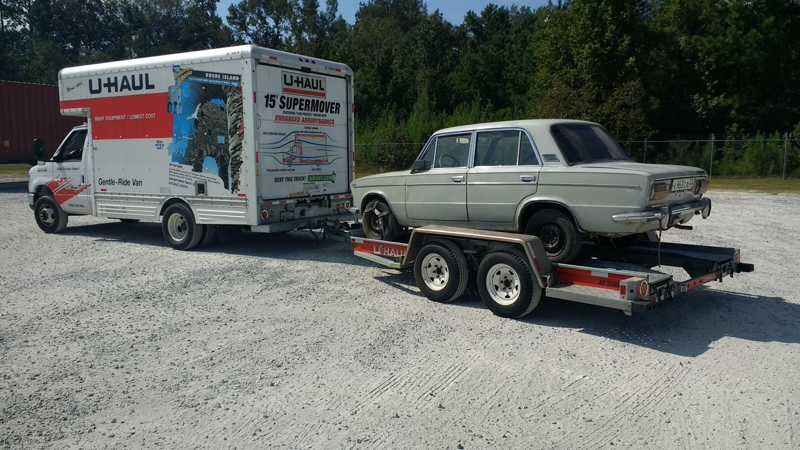 Lada 2103 trailer