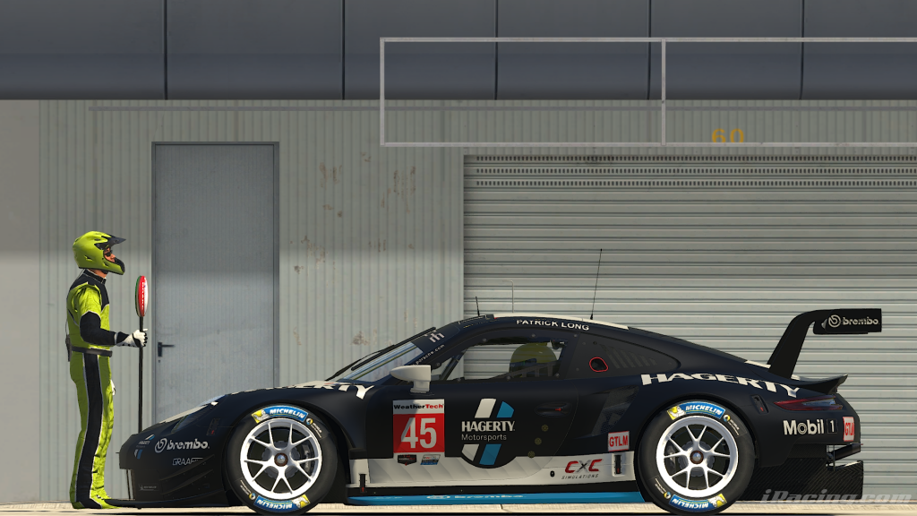 Patrick Long Hagerty Livery Side Profile