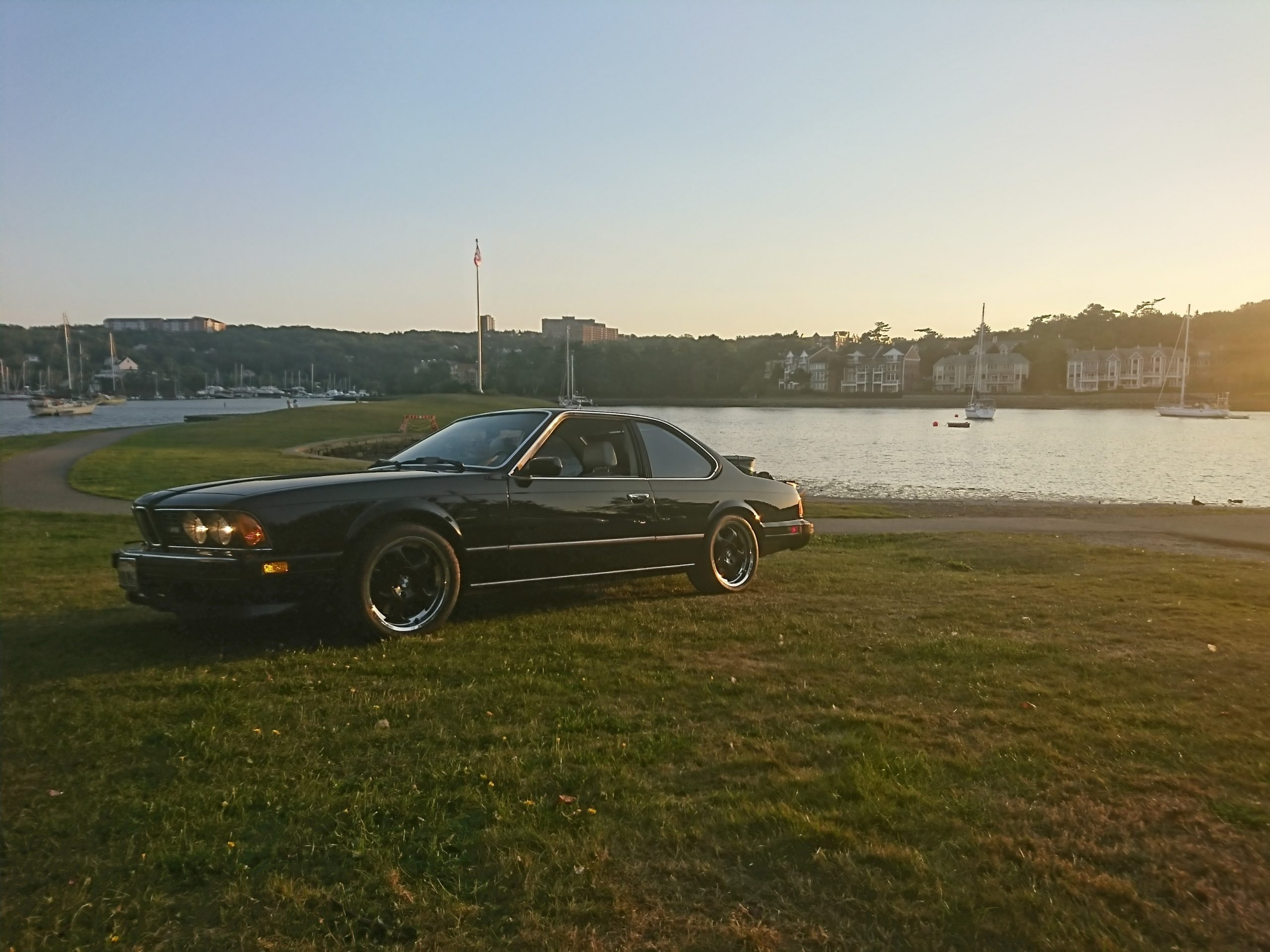 1987 BMW M6 Dinan front three quarter