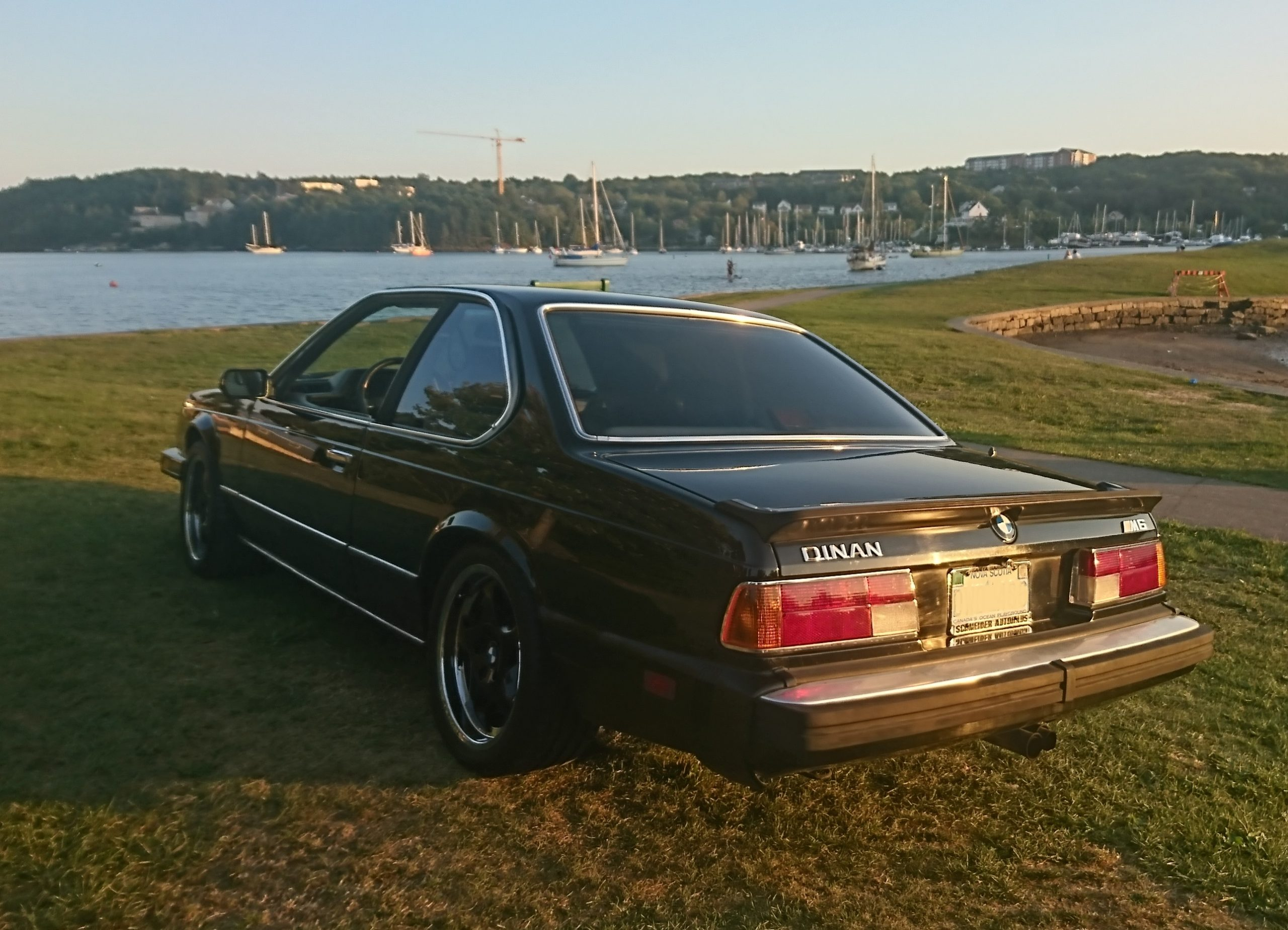 1987 BMW M6 Dinan rear three quarter
