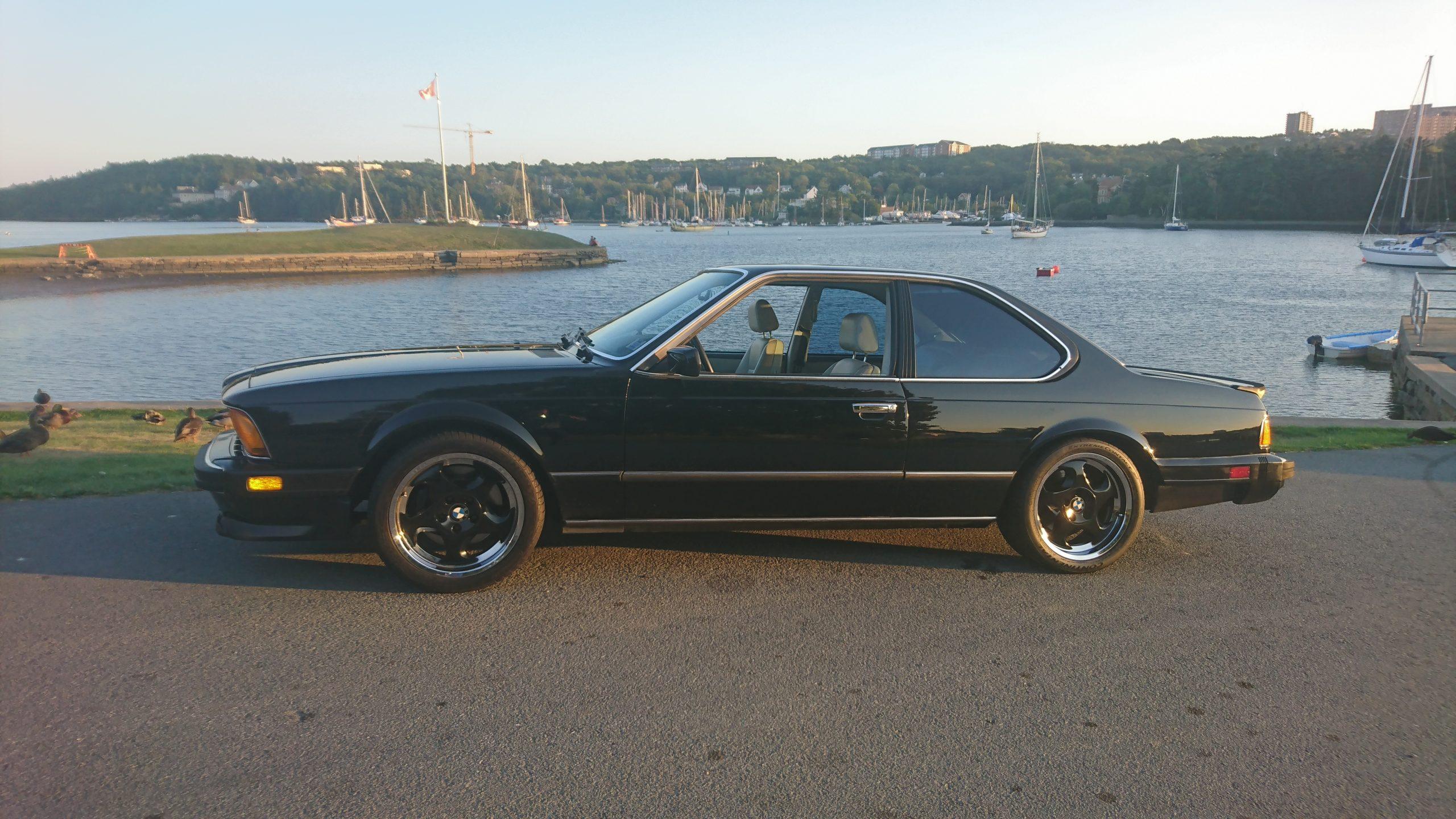 1987 BMW M6 Dinan profile