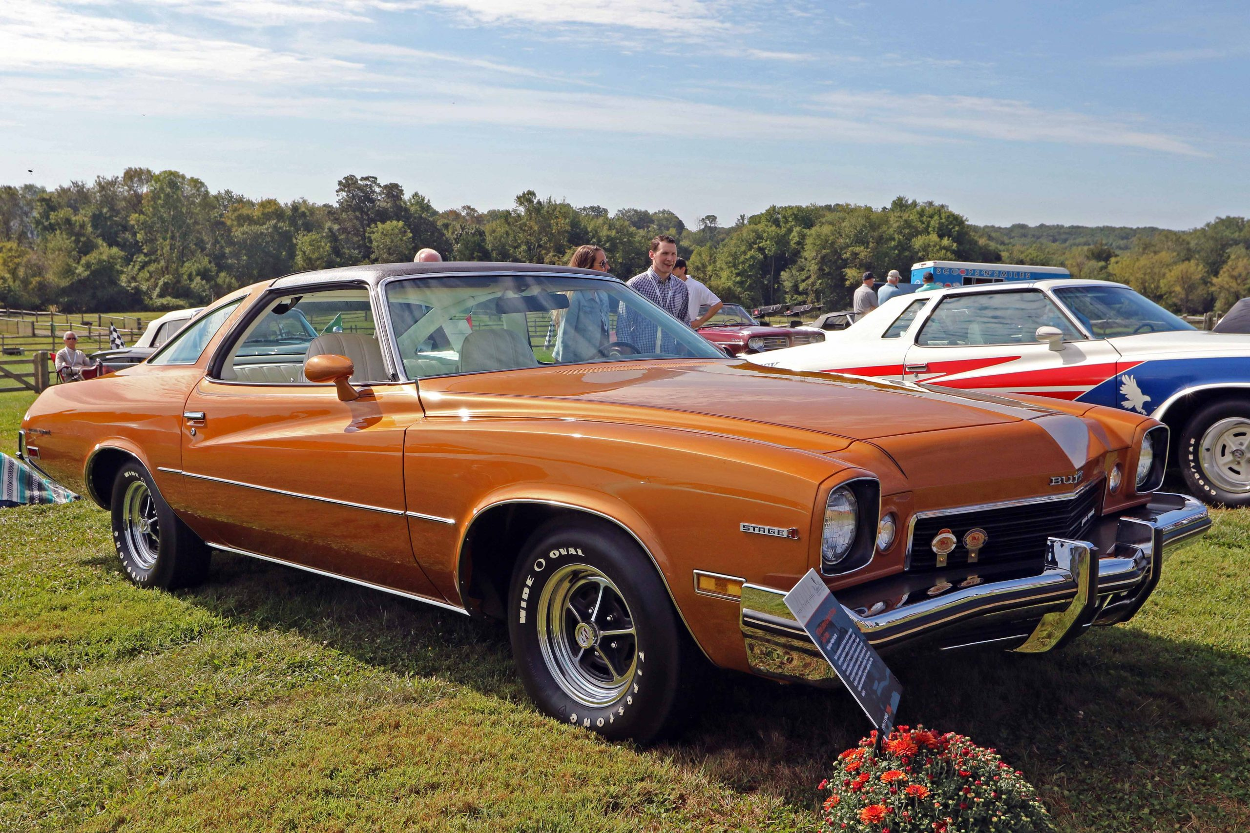 1973 buick gs stage 1 concours front three quarter