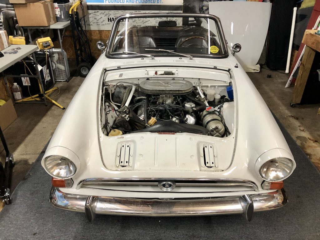 1966 Sunbeam Tiger 289 front no hood
