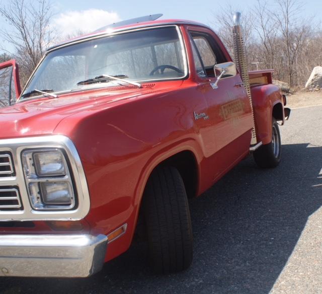 1979 Dodge Li'l Red Express left front fender