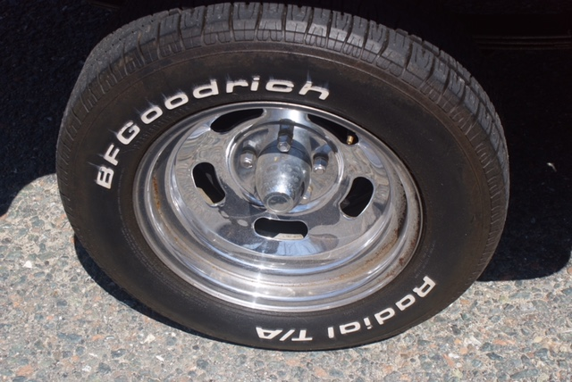 1979 Dodge Li'l Red Express exhaust tire