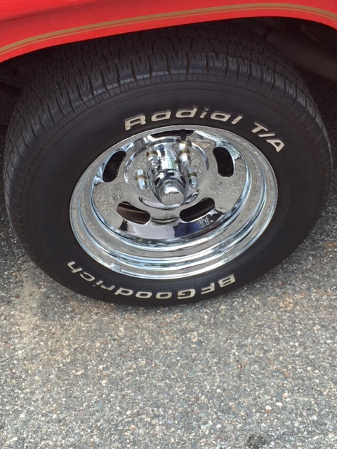 1979 Dodge Li'l Red Express tire