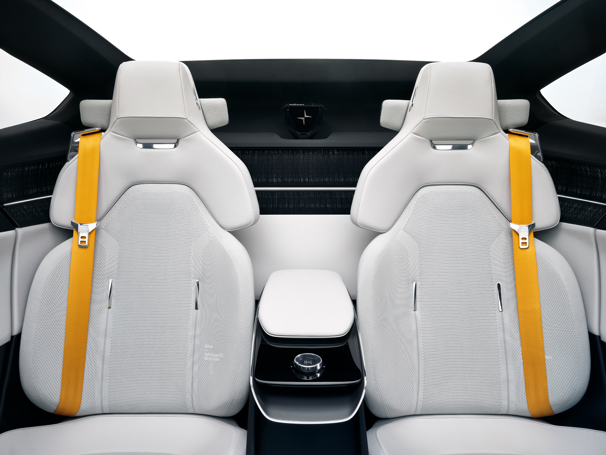 polestar precept rear seats