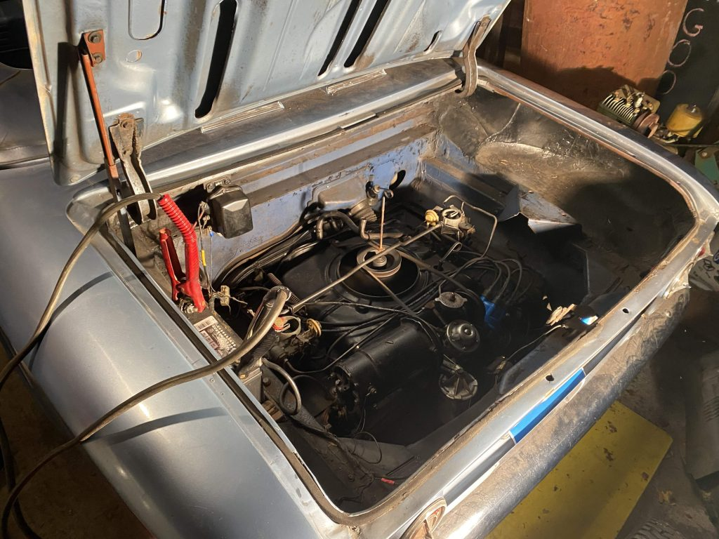 corvair engine detail