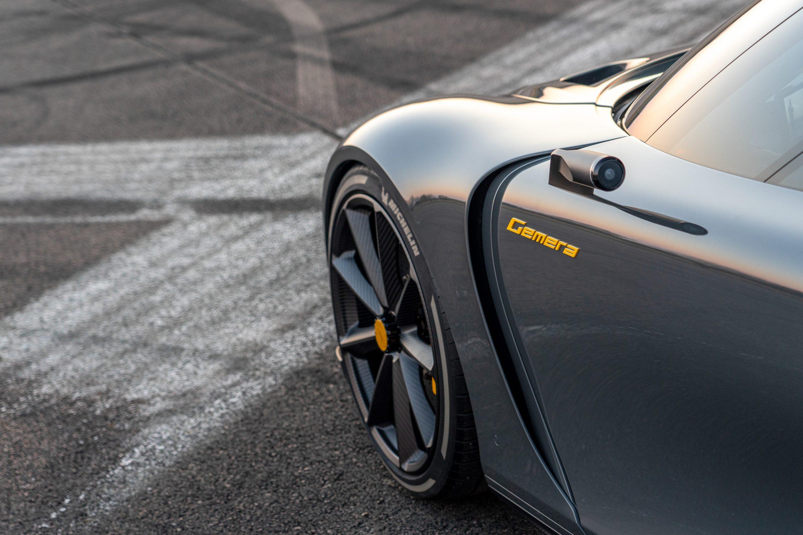 Koenigsegg Gemera fender detail