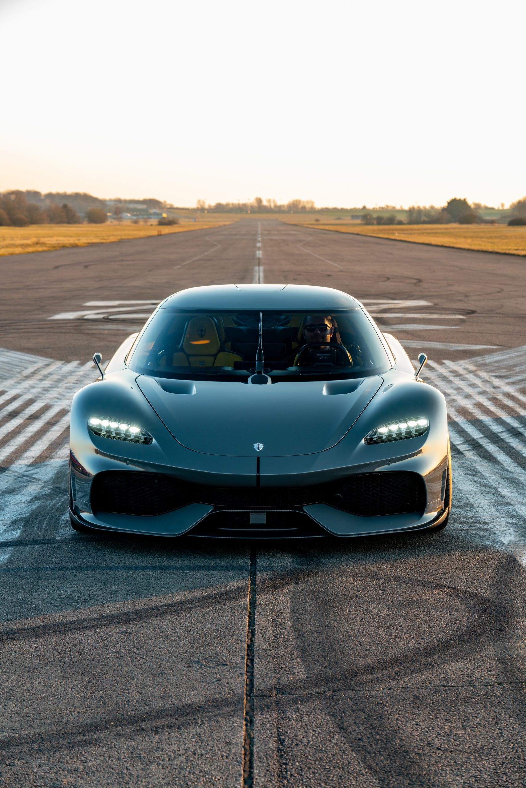 Koenigsegg Gemera front doors closed