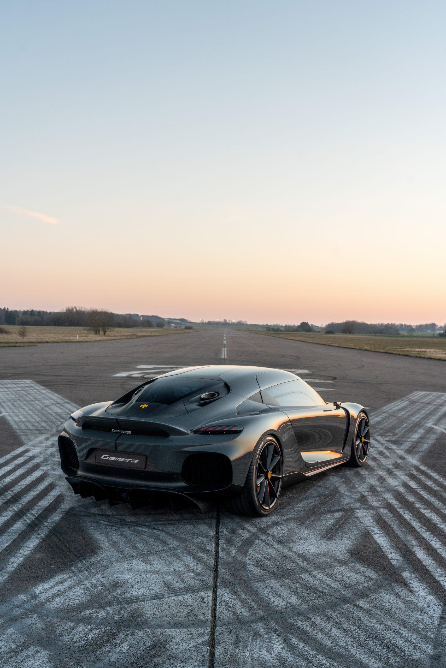 Koenigsegg Gemera rear spoiler