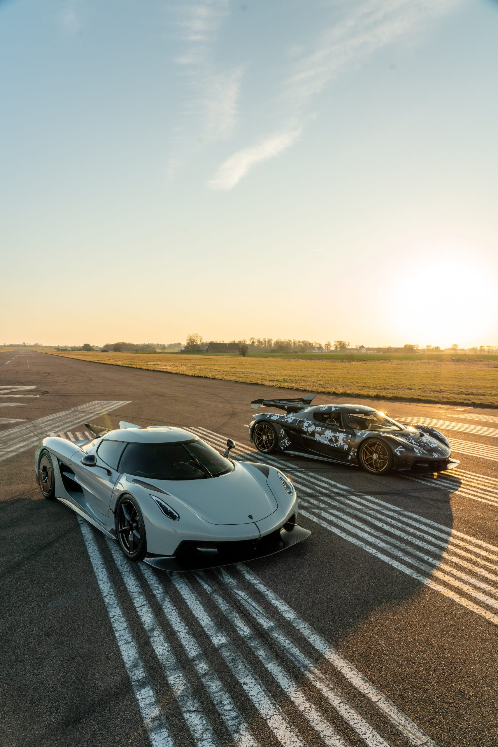 Koenigsegg Jesko Absolut pair