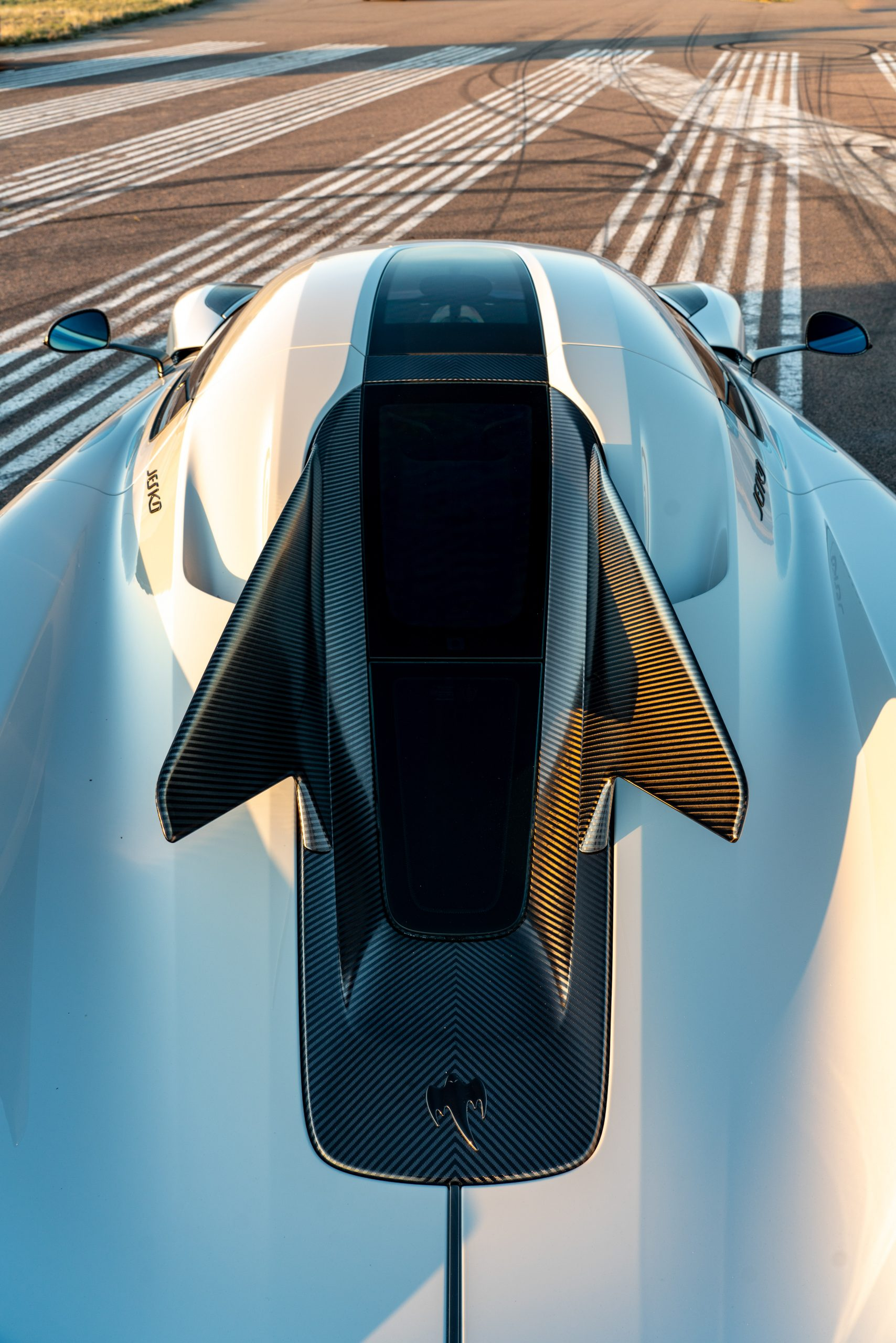 Koenigsegg Jesko Absolut rear winglet