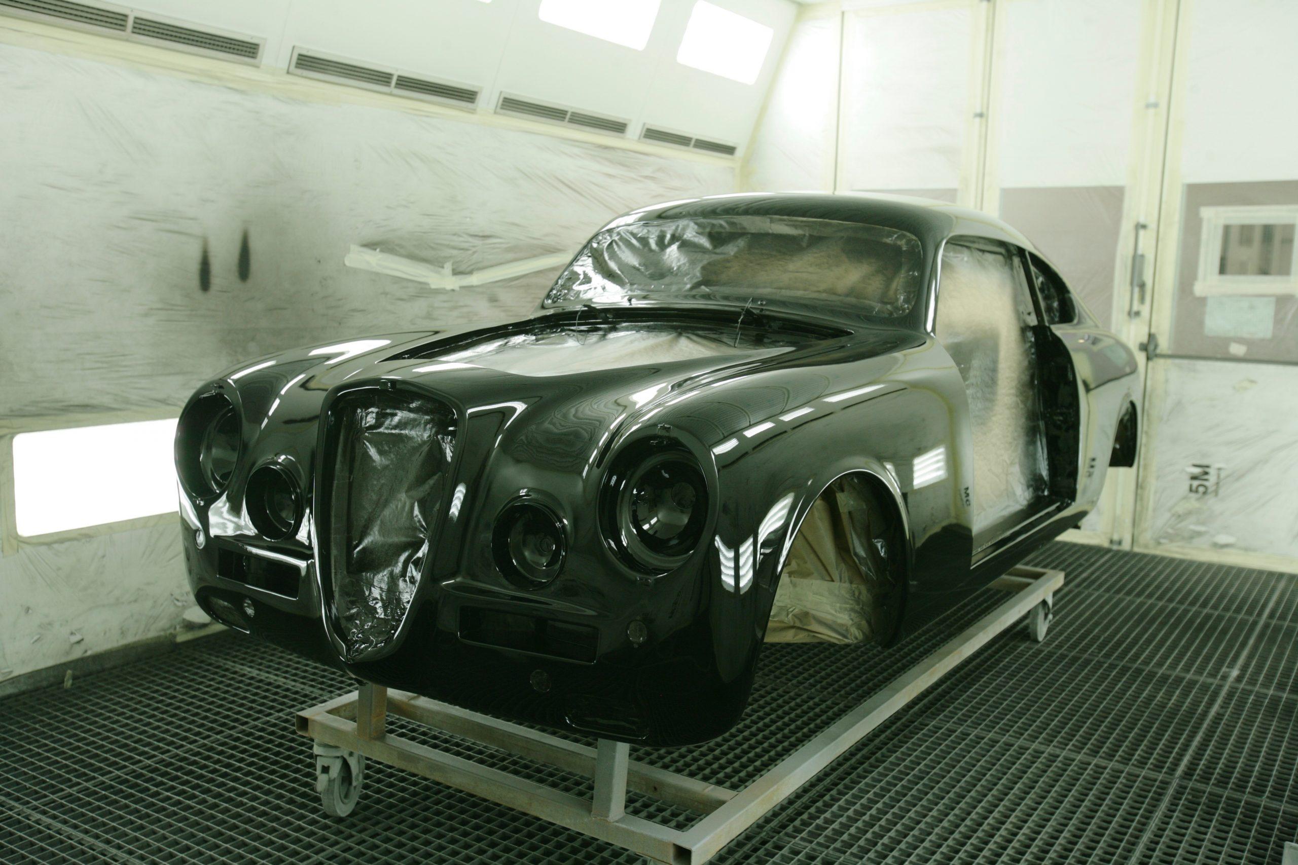 1951 Lancia Aurelia Bracco paint shop