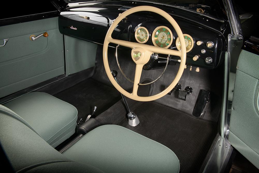 1951 Lancia Aurelia Bracco interior restored