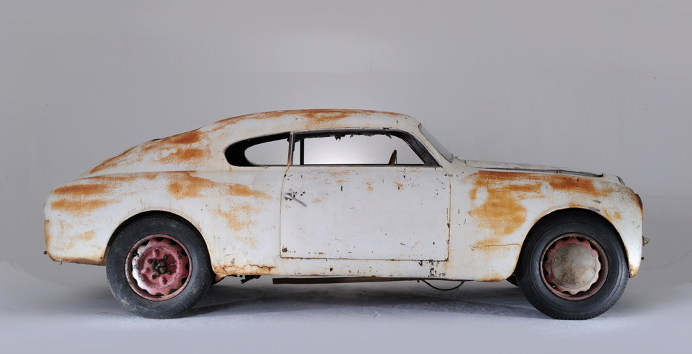 1951 Lancia Aurelia Bracco profile unrestored