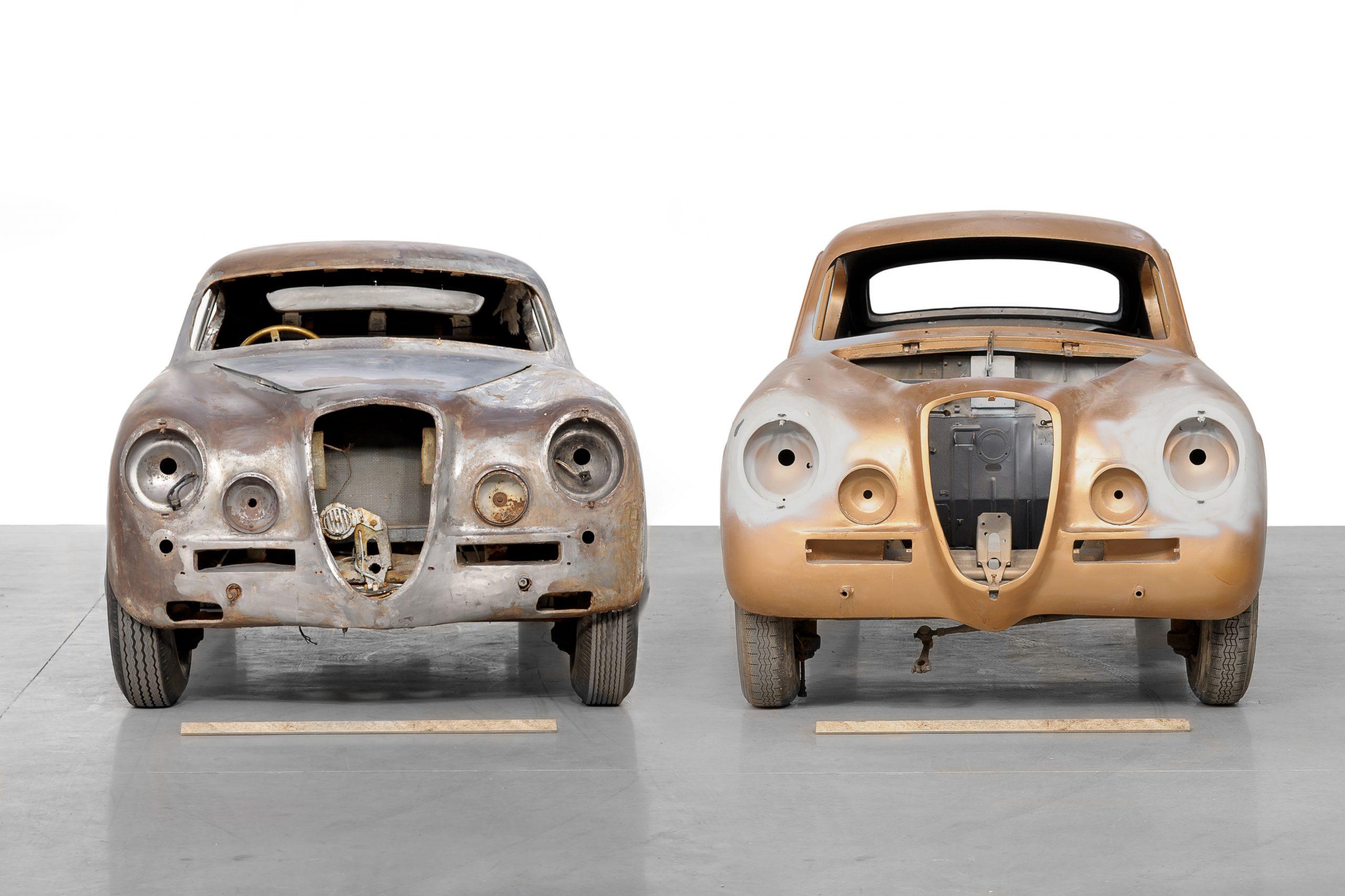 1951 Lancia Aurelia Bracco restoration