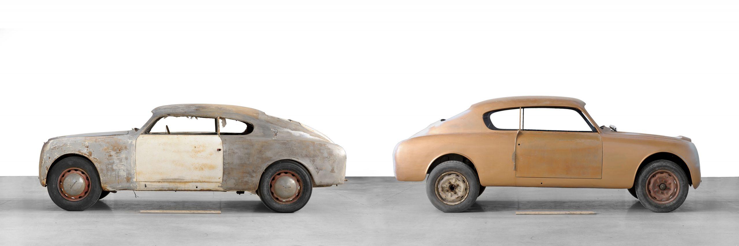 1951 Lancia Aurelia Bracco restoration profile