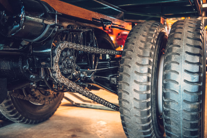 truck chain underbody