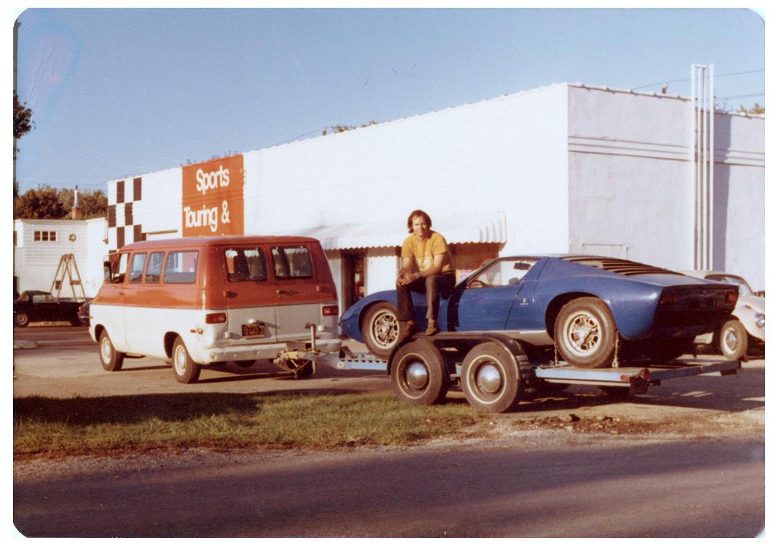 Eric Seltzer with his 1968 Miura