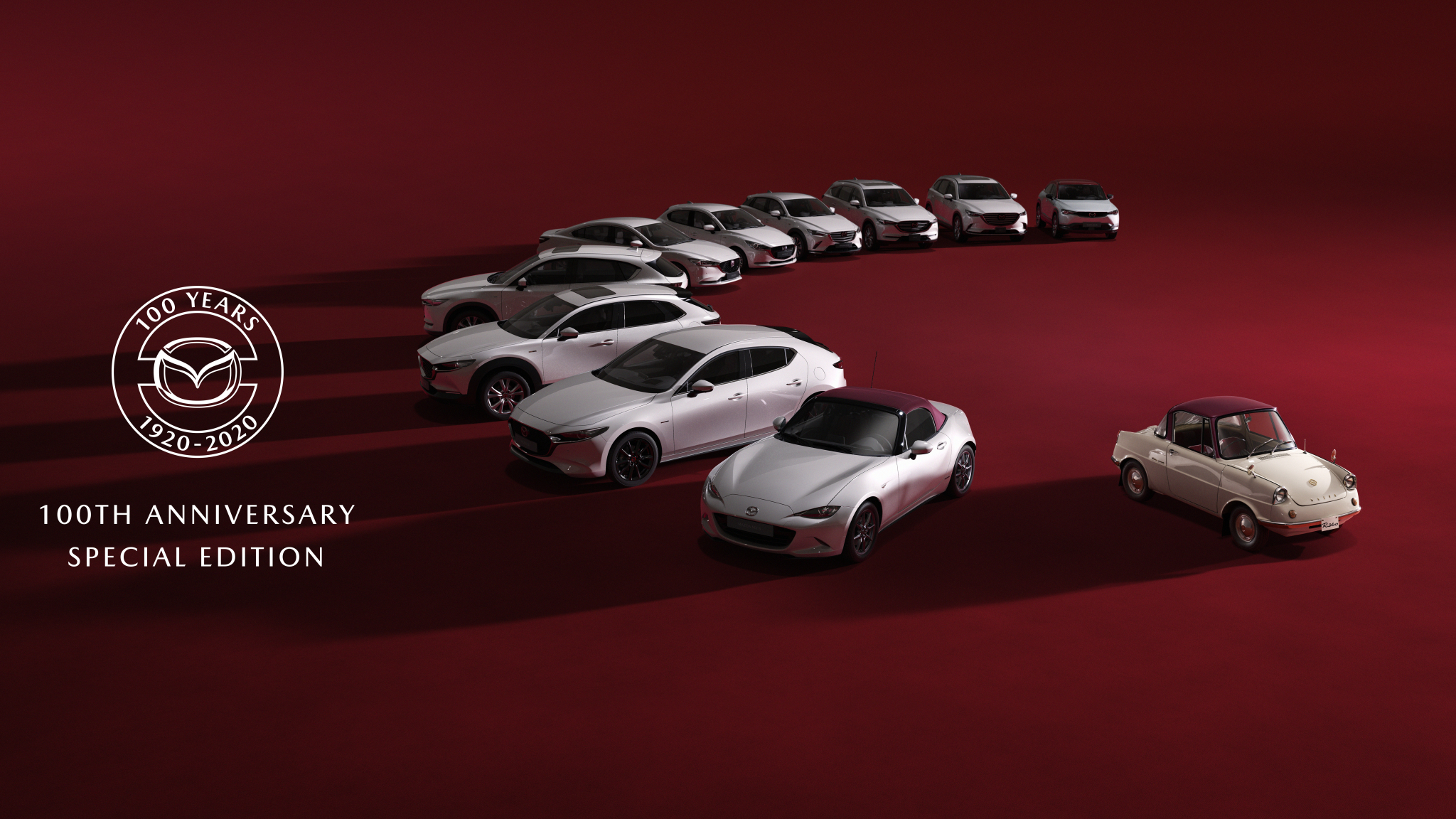 Mazda's 100th Anniversary Special Edition Series