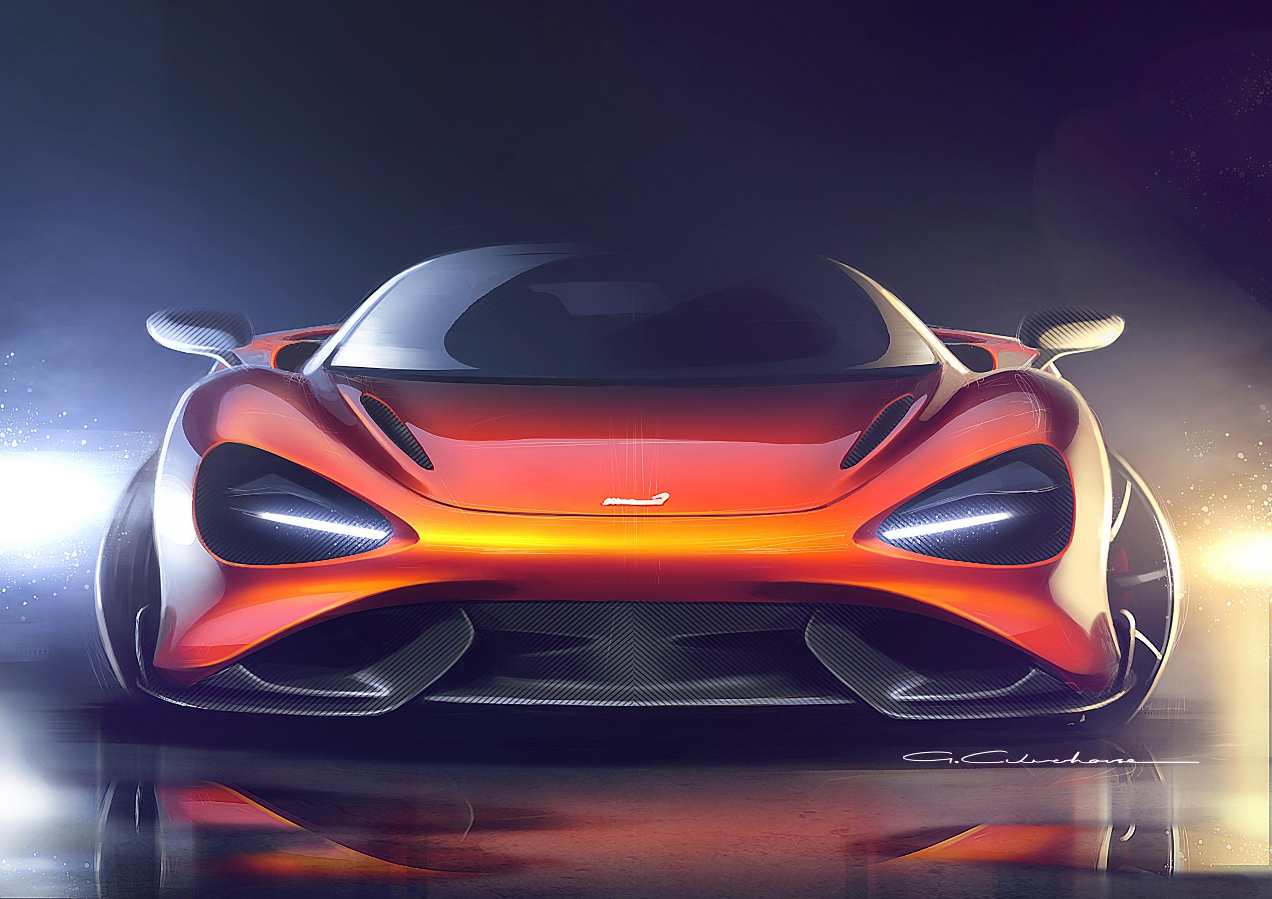 McLaren 765LT sketch