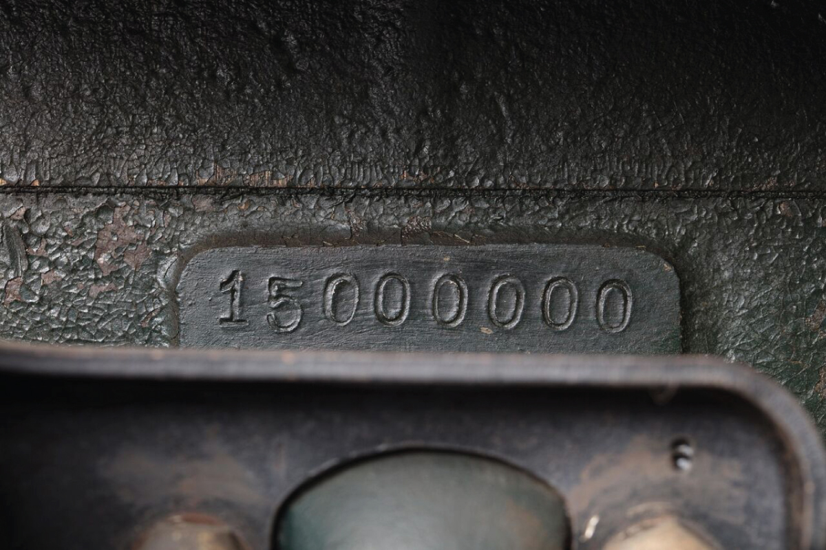 1927 Model T Touring 15 millionth stamp serial number